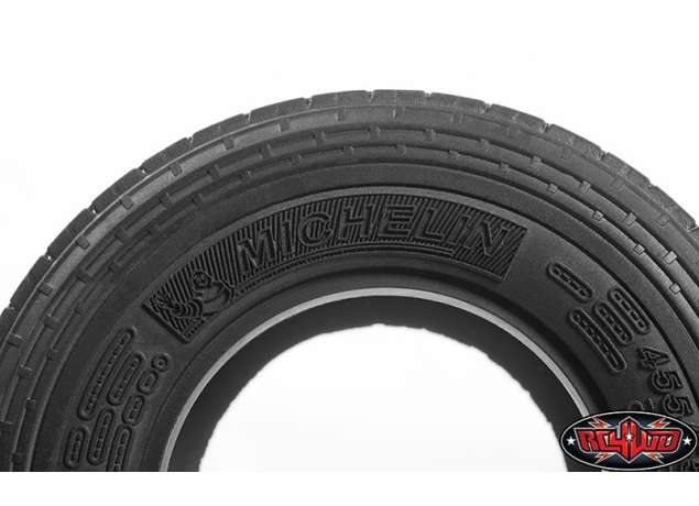 "RC4WD MICHELIN X ONE® XZU® S 1.7"" SUPER SINGLE SEMI TRUCK TIRES"